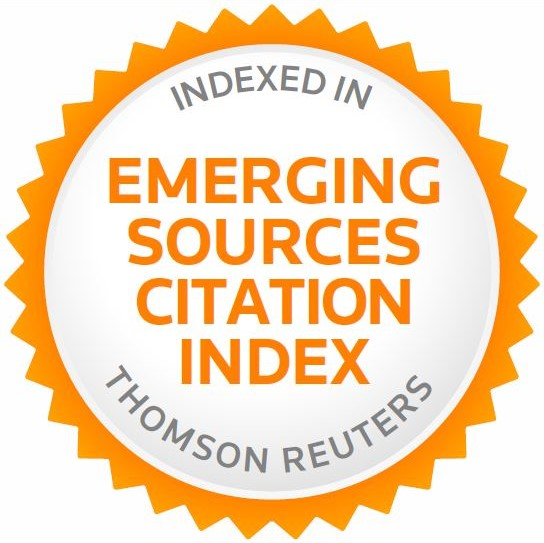ESCI (Emerging Sources                       Citation Index) / Thomson Reuters
